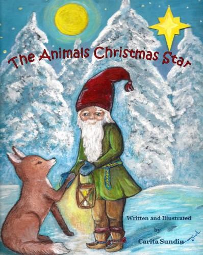 AnimalsChristmasStar_Cover_AllRightsReserved_Copyright_CaritaSundin