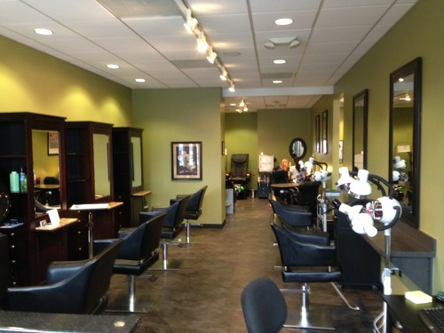 Wake Forest Nc United States May 9 2017 Marketersmedia Shearfun Hair Studio A Well Ointed And Upscale Full Service Salon Located In The