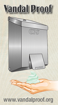 OPS-1TOUCH-tamper-proof-soap-dispenser-vandalproof