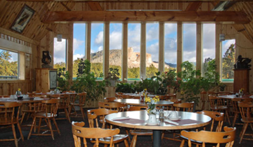 Crazy Horse Monument introduced a special dinner deal at their Laughing Water Restaurant.