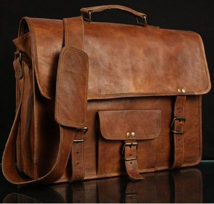 Handmade Cart Launches Premium Leather Messenger Bag ...