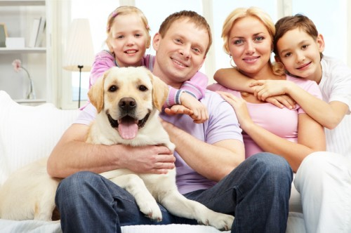 Happy-Family-with-Trained-Dog1