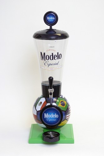 Modelo Especial Soccer Ball Drink Dispenser