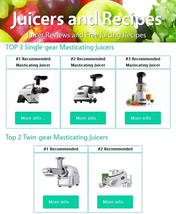 Top 5 Masticating Juicer Review