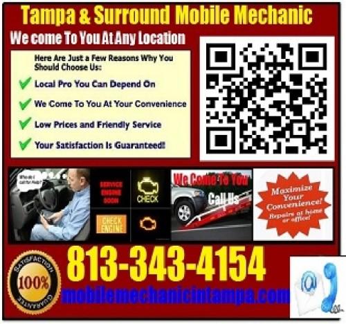 CarhelpoutTamapa Mobile Mechanic Auto Repair Service Now Live