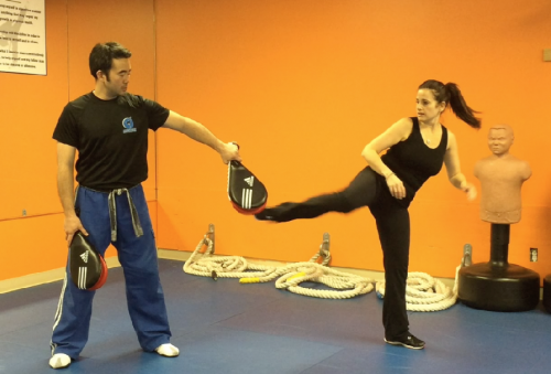 Roundhouse Kick the Right Way: Master trains Moms with ...