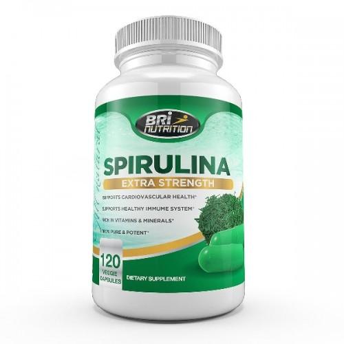 BRI Nutrition Releases No Aftertaste Spirulina Supplement