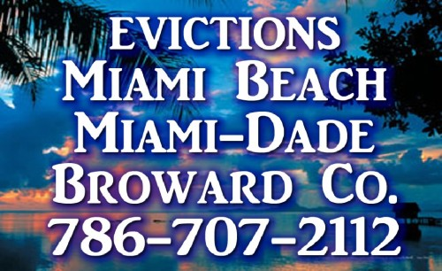New Eviction Services for Landlords in the Miami Florida Area Is Open for Business