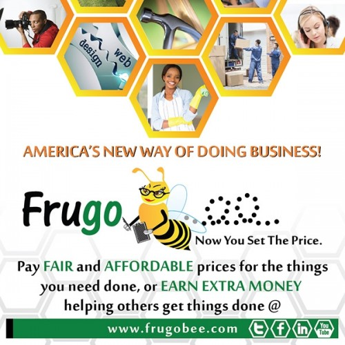 FrugoBee: Now Consumers Can Set the Price & Save Hundreds on Everyday Services