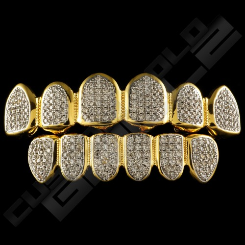 Custom Gold Grillz Releases New Product Line of Iced Out