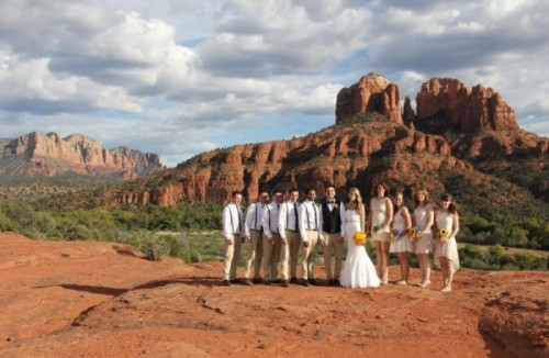 Cathedral Vista Earns Its Place as One of Best Sedona Wedding Venues