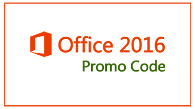 office 2016 promo code publishes new suite of incentives and offers
