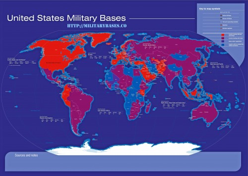 Putins Challenge To Publish A Map With All The Us Military Bases On - Map-of-all-us-military-bases