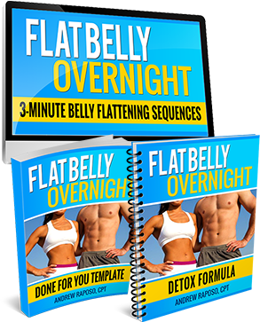 How to burn belly fat and love handles naturally