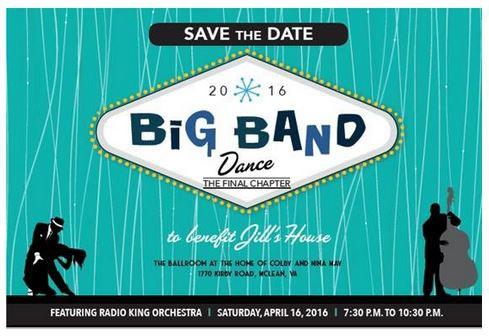McLean Big Band Dance Lessons & Raffle Fundraiser For Jill's House Announced
