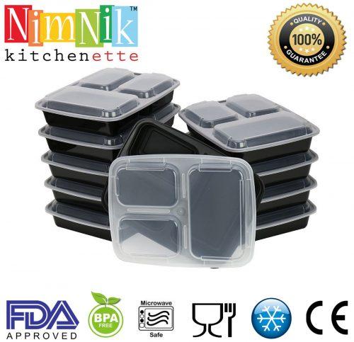 nimnik portion control bento lunch boxes launched on amazon usa uk marketersmedia press. Black Bedroom Furniture Sets. Home Design Ideas