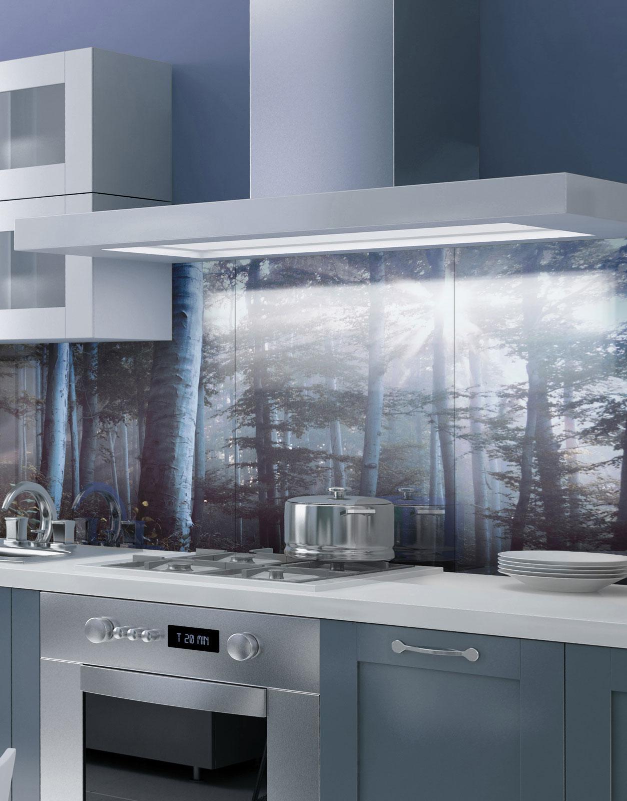 Milchglasfolie Küche