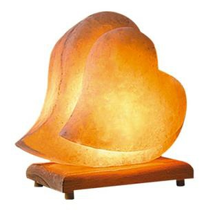 Salt Lamps Air Quality : An Artisan Crafted Heart Shape Himalayan Salt Lamp Improves Home Air Quality MarketersMedia ...