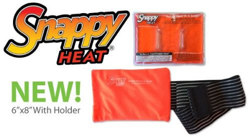 Instant Reusable Heat Pack : Snappy heat release upgraded instant reusable heating pack