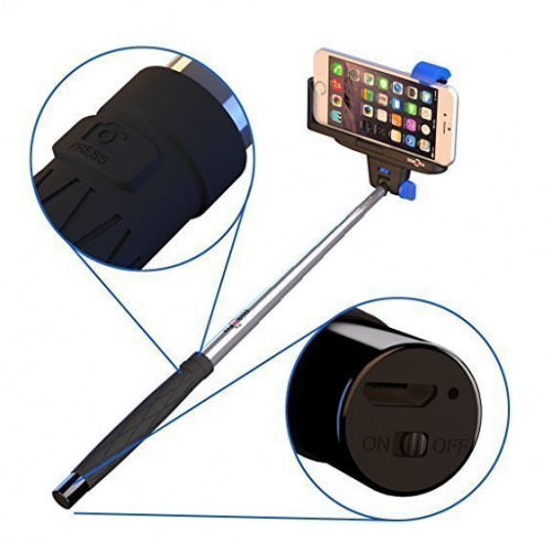 new discount available for iphone selfie stick on amazon sproutnews. Black Bedroom Furniture Sets. Home Design Ideas