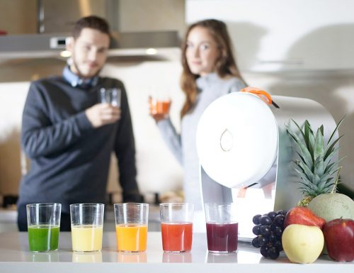 Juisir, The World's First Self-Cleaning Juicer, Raises More Than $100,000 During First Day On Kickstarter