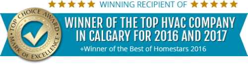 Air Force Heating and Air conditioning crowned Top Choice Award Winner