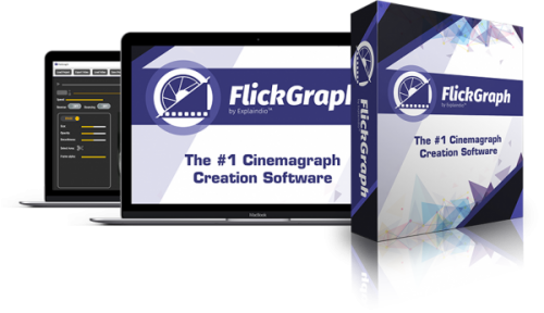 FlickGraph BONANZA Andrew Darius 2017 Animated Photo Creation Software Launched
