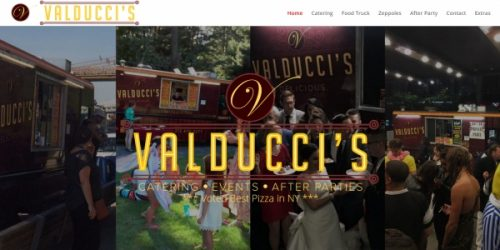 NYC Pizza Truck, Valducci's, Announces New & Improved Website