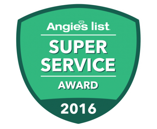 Rolling Garage Doors & Gates Earns 2016 Angie's List Super Service Award