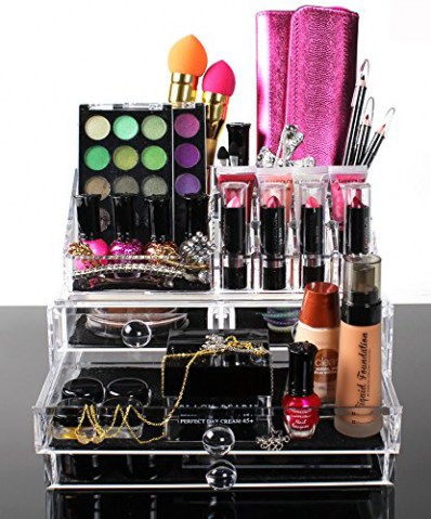 Popular Cosmopolitan Collection Makeup Organizer Back In Stock On Amazon.com