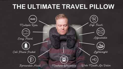 Duo Launches Successful Kickstarter Campaign For Ultimate Travel Pillow