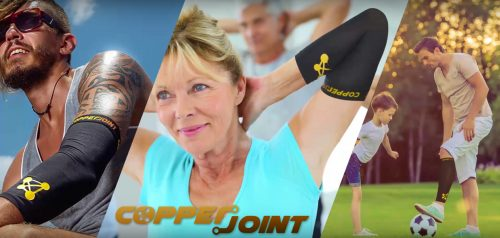 CopperJoint Releases Infomercial Highlighting Copper Compression Sleeves