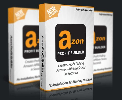 Azon Profit Builder WebApp helps Create Users Affiliate Amazon Site in Less Than 1 minute On Complete Autopilot