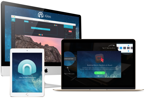iGloo Reloaded - The Marketing Platform Creates And Launches The Fastest Page-Building Sales Funnels On The Market For Marketers