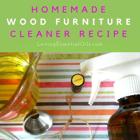 Homemade wood furniture cleaner recipe diy lemon essential for Homemade wooden furniture polish