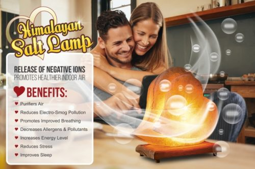 Relax in Meditation With Newly Released Himalayan Salt Lamp