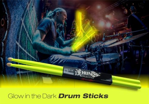 Tempi Releases their Groundbreaking Glow in the Dark Drumsticks for Drummers