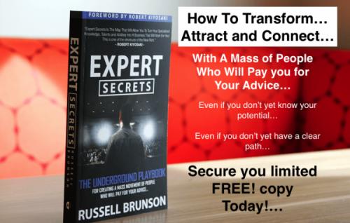 ClickFunnels - Free Expert Secrets Book Launch - Russell Brunson 2017