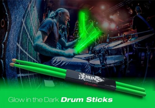 Tempi has finally released their Glow In The Dark Drumsticks