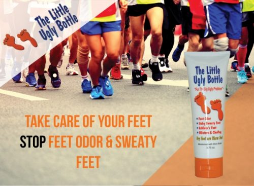 Stop Foot Odor Natural Cream To Prevent Bacteria Sweat & Itchy Feet Launched