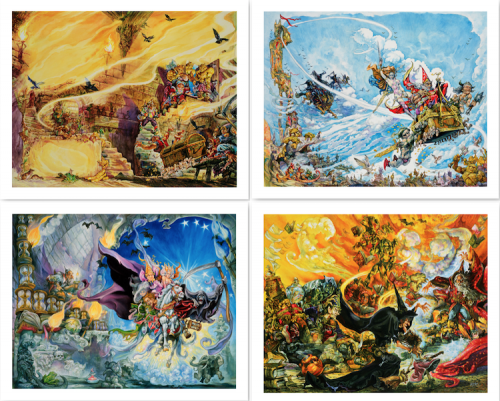The Josh Kirby Estate Proudly Announces Limited Edition Discworld Fine Art Prints