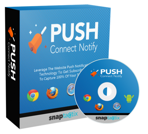 Push Connect Notify Helps Marketers Communicate With Website Visitors As They Land On Their Page