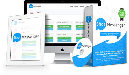 Shot Messenger Has Launched: A Complete Facebook Messenger Marketing Suite Used For Leveraging Facebook Personal Messaging