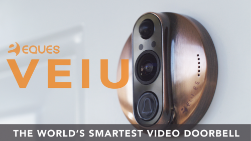 Eques Launches Kickstarter For Home Protection Doorbell: VEIU