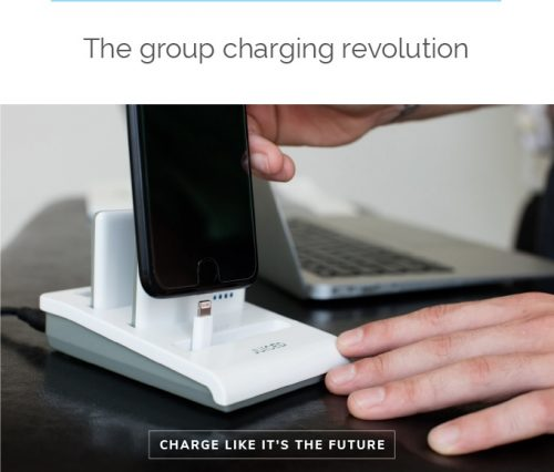 JUICED Launches Campaign For Wireless Group Charging Station On Kickstarter