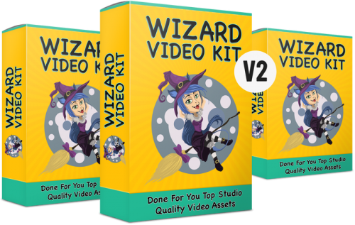 Wizard Video Kit V2 – A Huge Collection Of Video Templates That Help Users Boost Their Conversions