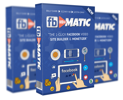 FB Vidmatic Software Helps Users Create Simple Websites Filled With Videos From Facebook Pages Instantly