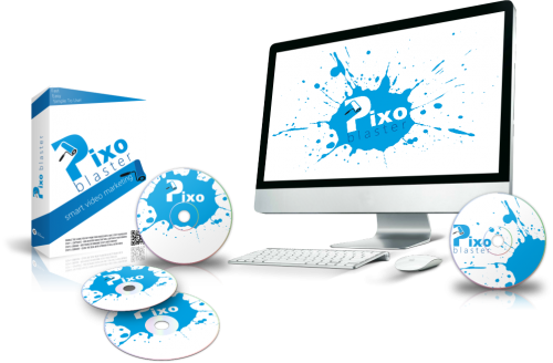 Pixo Blaster – A video software helps marketer easily customize any video to boost engagement on their website