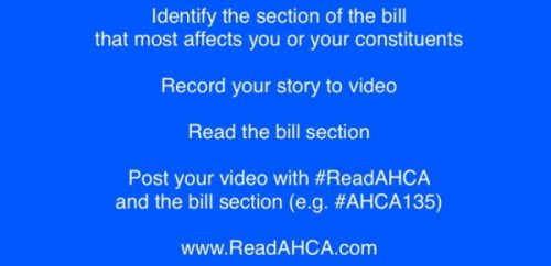 Senator Toomey Constituents Host Read AHCA and Die-In Event on June 4th