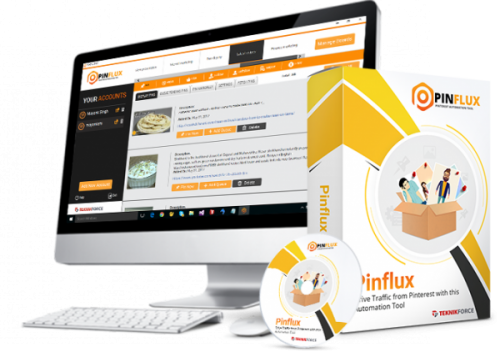 Pinflux Cyril Jeet Desktop Pinterest Automation Software Released